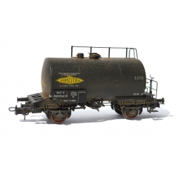 "Citerne 2 essieux ex-DR Ep.III SNCF n°556379wf² ""SIMOTRA"" Patiné"