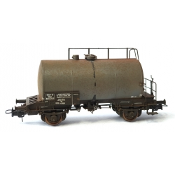 Citerne 2 essieux ex-DR Ep.III SNCF n°SCwf 595771 sans marquage Patiné