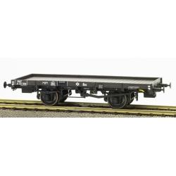 PLATS Origine PLM - wagon avec frein à levier, boite PLM, roues pleines n°Jo113508 SNCF
