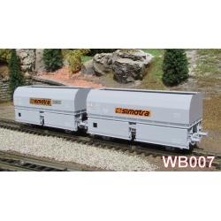 "STEMI 56 Ep.IV SET de 2 Wagons Coke ""SIMOTRA"""