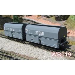 """STEMI 56 Ep.III SET de 2 Wagons Coke """"STEMI - S T E M I"""""""