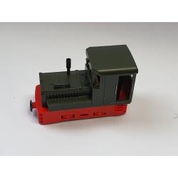Locotracteur Plymouth, Vert, Châssis rouge avec réservoir