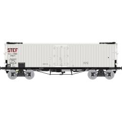 Wagon TP FRIGO Origine à Trappes à glace PLM STEF Ep.II (avec essieux Griffin)