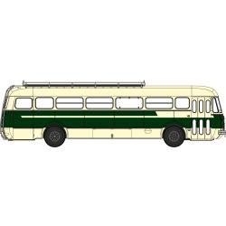 Autocar R4190 Vert et Crème - Transport Gras - Libos (47)