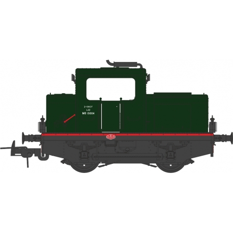 MOYSE 32 TDE, SNCF Vert 306, Traverse rouge, phare Marchal - ANALOGIQUE
