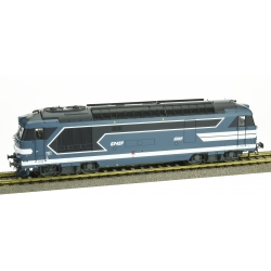 BB 67497, Dépôt de NÎMES, Logo encadré peint Ep.IV-V - DCC SOUND 3 Rails AC