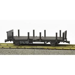 Wagonnet de draisine (plat à ranchers et bouts ridelle) Ep.III-IV
