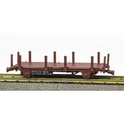 Wagonnet de draisine (plat à ranchers) Ep.IV-V