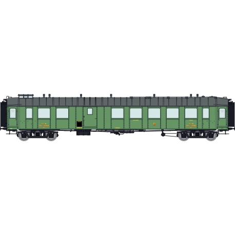 Voiture OCEM RA 3ème classe/fourgon C4Dyi 12368 PLM Ep.II
