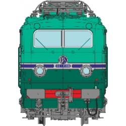 CC 7138 CHAMBERY Jupe échancrée, frotteur 3ème rail MAURIENNE - DCC Sound, PANTOS MOTORISES