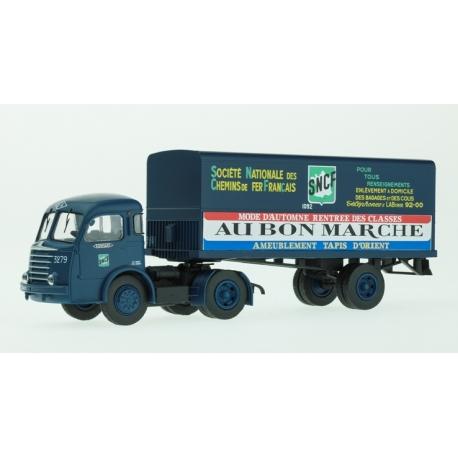 """Panhard Movic - remorque """"SNCF-AU BON MARCHE"""""""
