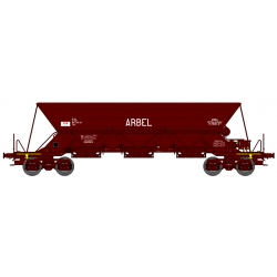 """TREMIE EX T1 - Ep.IV Coffret 3 Wagons """"ARBEL"""" avec 1 Feux de Fin de Convoi"""