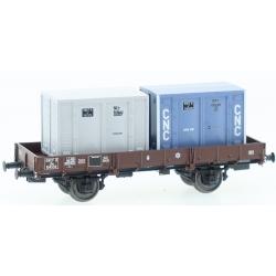 "PLAT OCEM 29 Ep.III Wagon + CADRES ""CNC"" (x 2) N°Jho 104554"