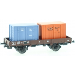"PLAT OCEM 29 Ep.III Wagon + CADRES ""CNC"" (x 2) N°Jho 104870"