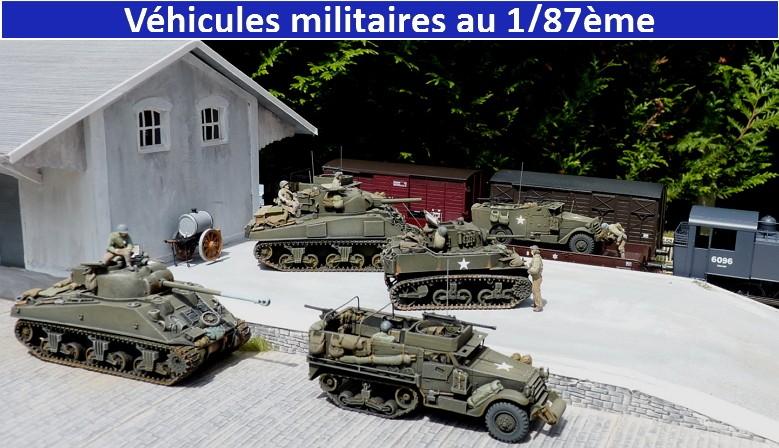 Véhicules militaires au 1/87ème